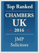 JMP Solicitors Top Ranked in 2016