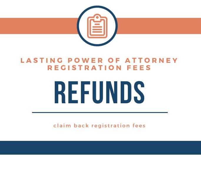 Lasting Power of Attorney registration fees – are you entitled to a refund?